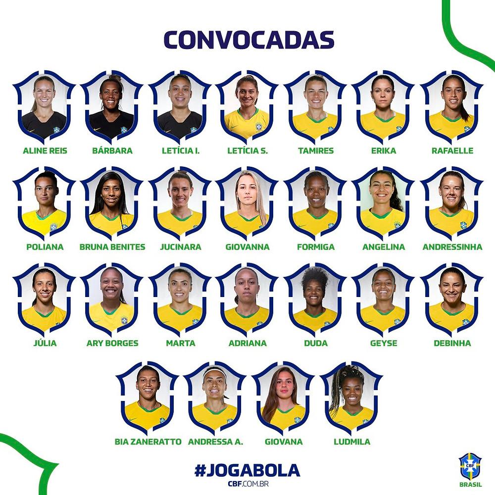 Brasil para la fecha FIFA