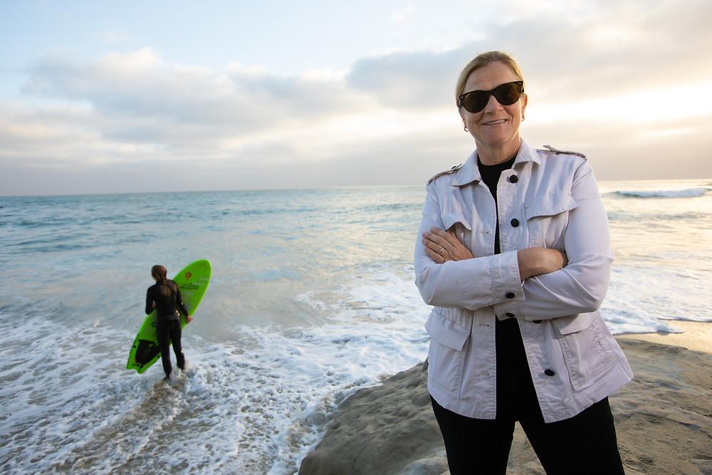 La presidente de San Diego, Jill Ellis