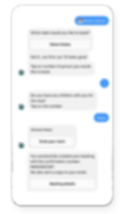 Room booking Salesbot Alex Messenger