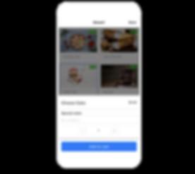 Food Order Salesbot Alex Messenger