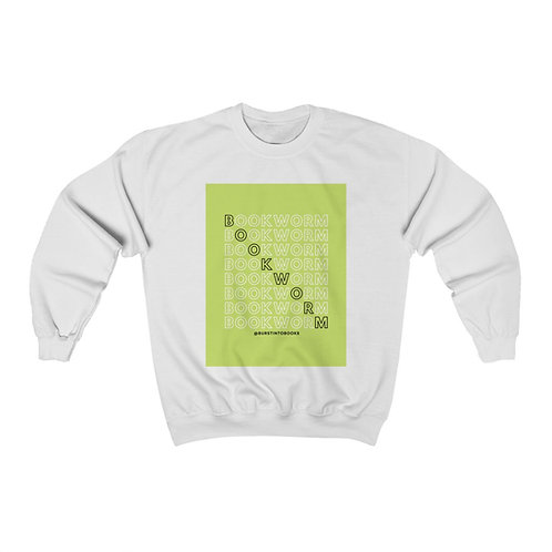 """Bookworm"" Unisex Heavy Blend™ Crewneck Sweatshirt"