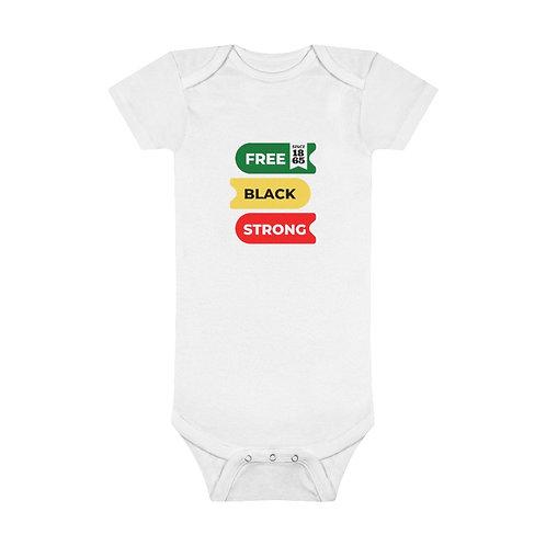 Juneteenth Baby Short Sleeve Onesie®