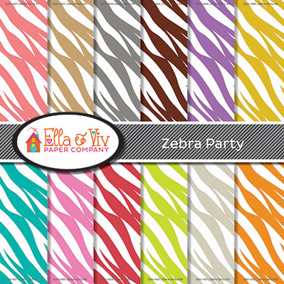 Zebra Party Collection