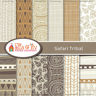 Safari Tribal Collection