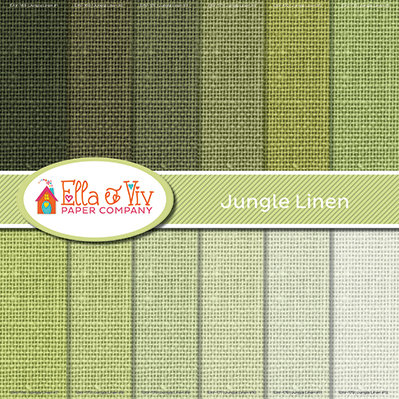 Jungle Linen Collection