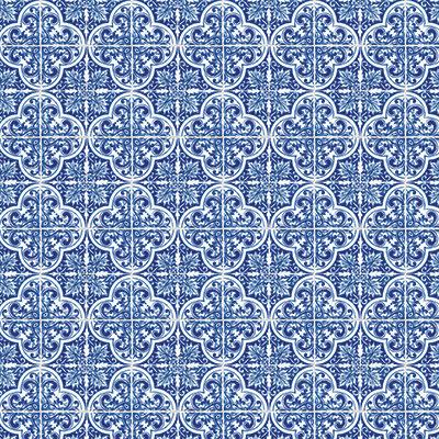 Deep Blue Mosaic #3 EAV-483