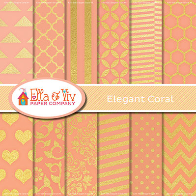 Elegant Coral Collection