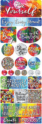 Be Yourself Combo Sticker