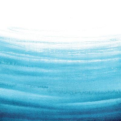Ocean Ombre Watercolor