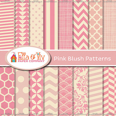 Pink Blush Patterns Collection