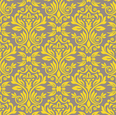 Sunshine Damask #2