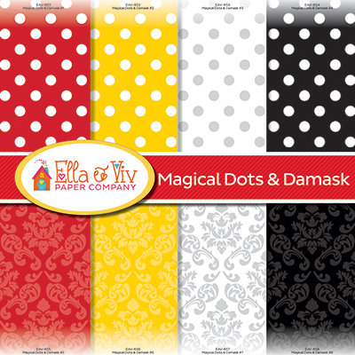 Magical Dots & Damask Collection