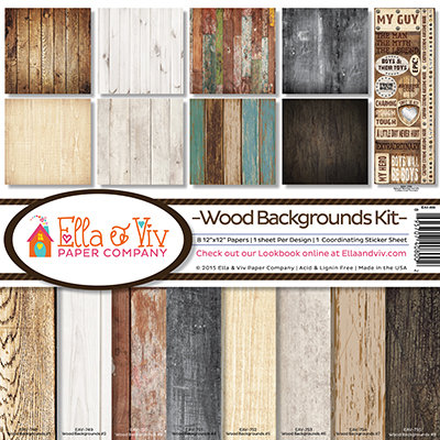 Wood Backgrounds Kit