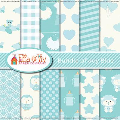 Bundle of Joy Blue Collection