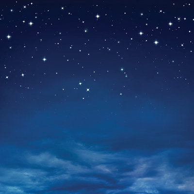 Calm Night Sky