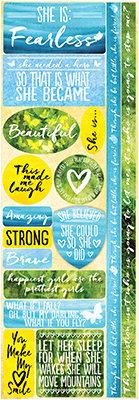 Watercolor Dreams Combo Sticker