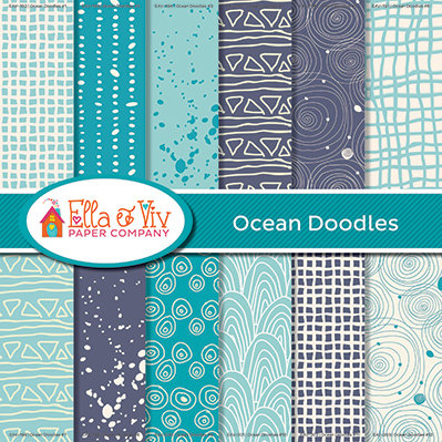 Ocean Doodles Collection