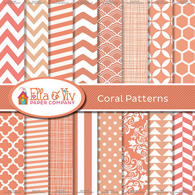 Coral Patterns Collection