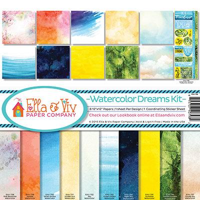 Watercolor Dreams Kit