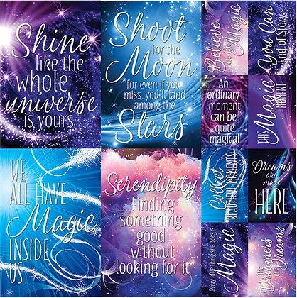 Magic Moments 12x12 Poster Sticker