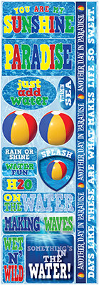 H2O Combo Sticker