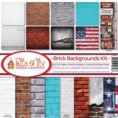 Brick Backgrounds Kit