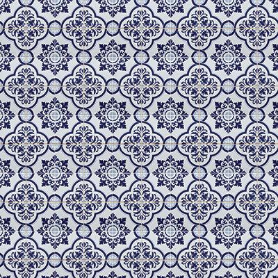 Deep Blue Mosaic #7