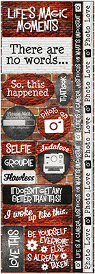 Brick Backgrounds Combo Sticker