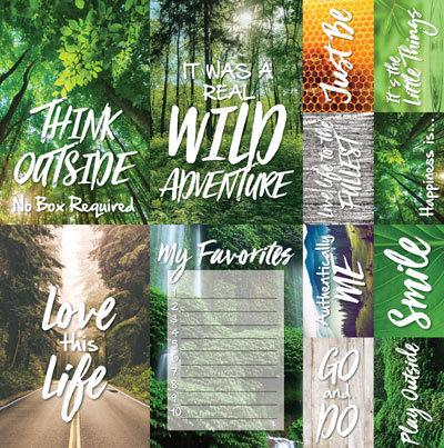 100% Natural 12x12 Poster Sticker