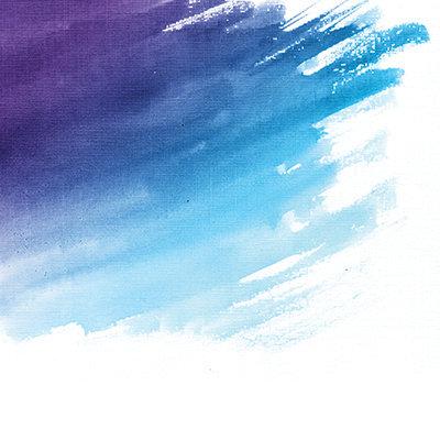 Violet Ombre Watercolor