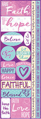 Pretty Paisley Combo Sticker