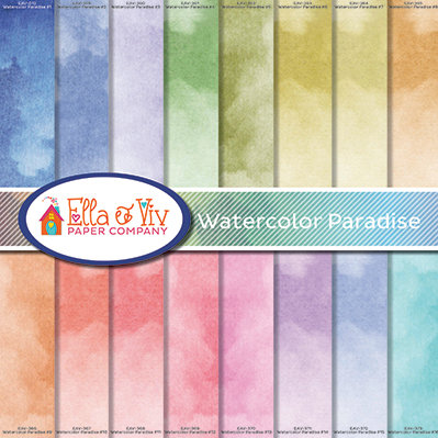 Watercolor Paradise Collection