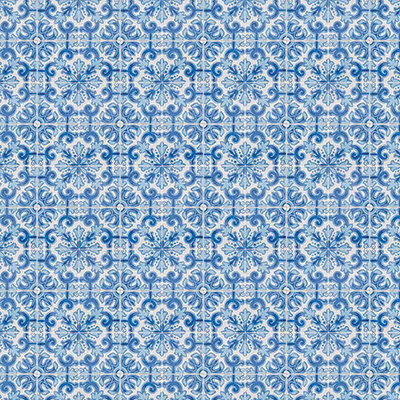 Deep Blue Mosaic #6