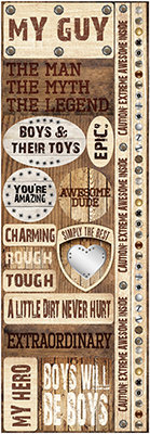 Wood Backgrounds Combo Sticker