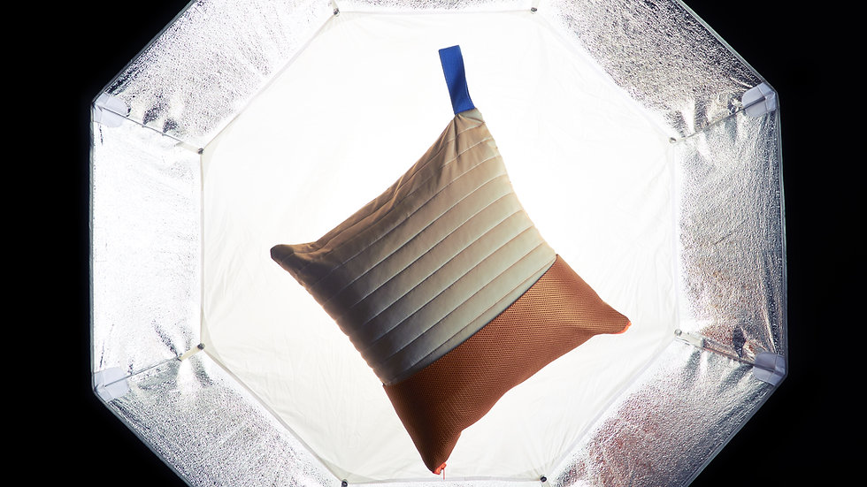 Silver InTransit Cushion