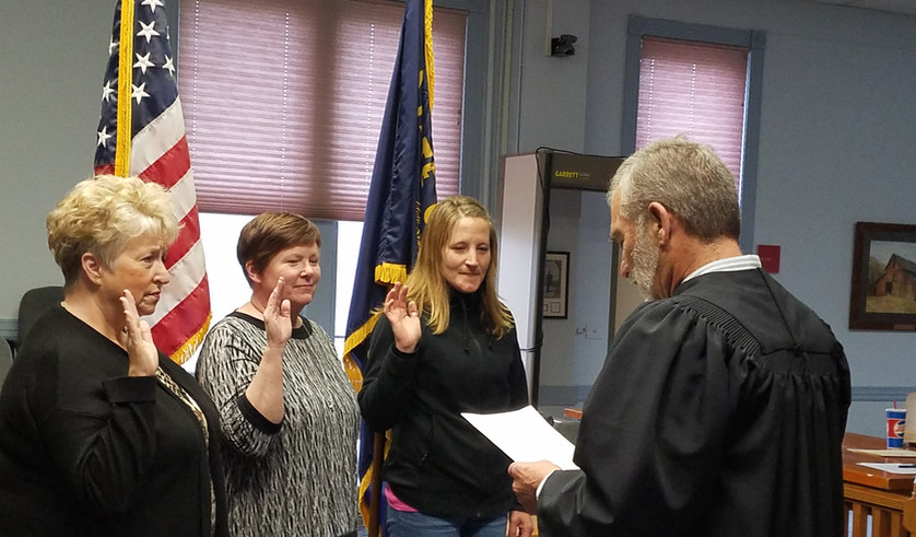 April 2019 - Three New CASA Volunteers Sworn In