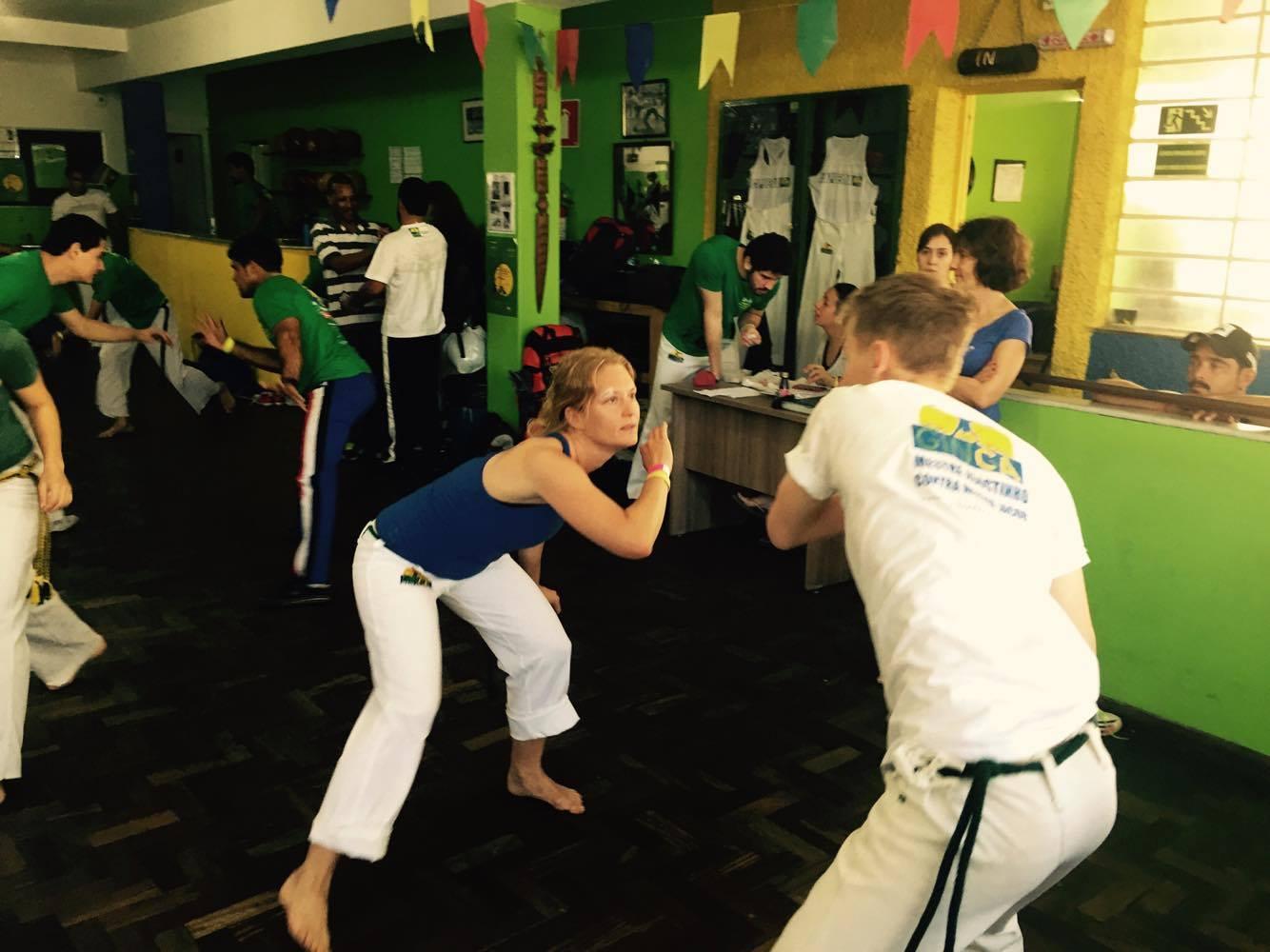 Internationalt Capoeira møde i Belo