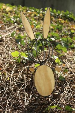 Wood and Steel Rabbit