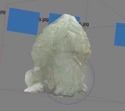 Fluorite with Argonite