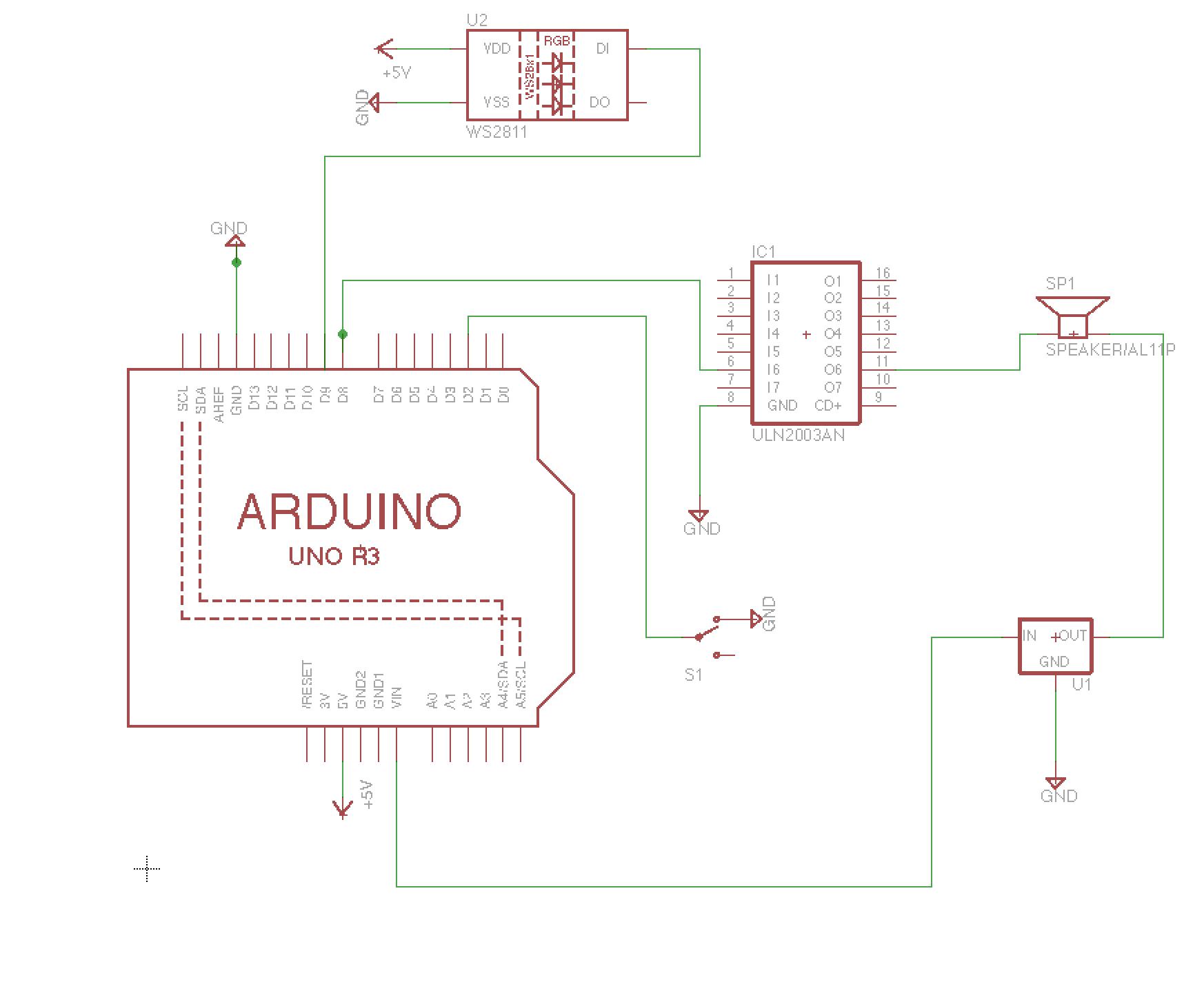 Schematic of Circuits Per Pot
