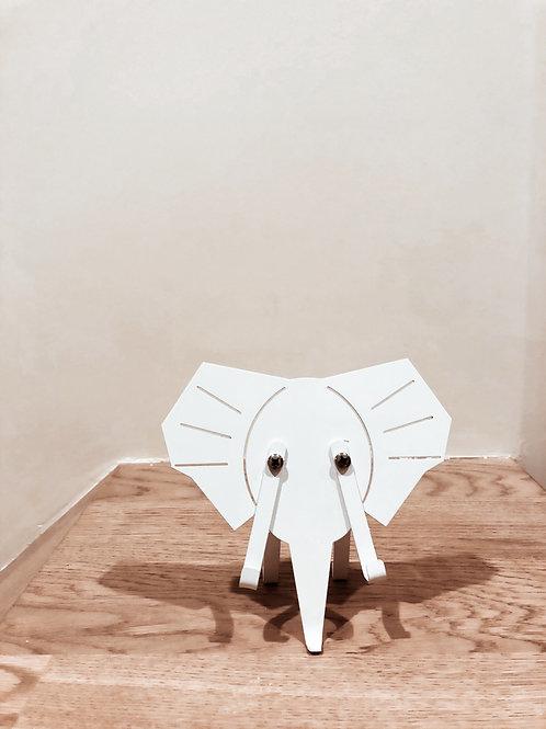 Elephant Telefon Tutucu Beyaz