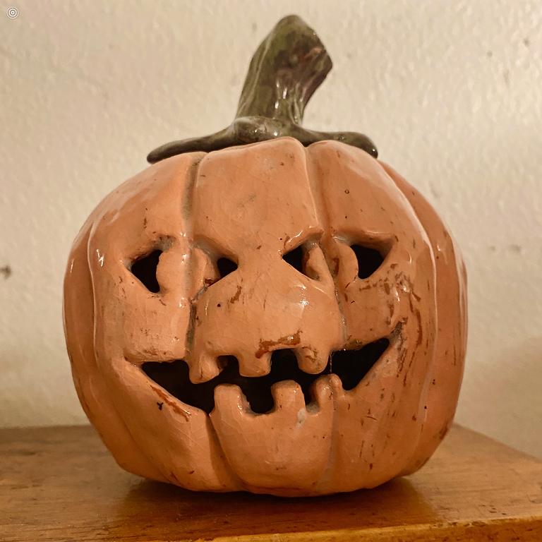 Clay Pumpkin Class