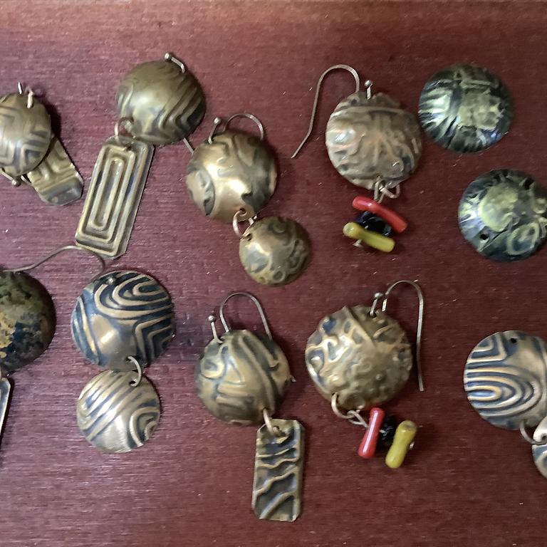 Copper Earrings Workshop
