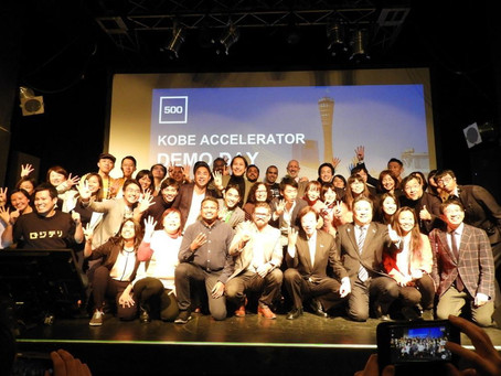 500 KOBE Accelarator demo dayでピッチを行いました