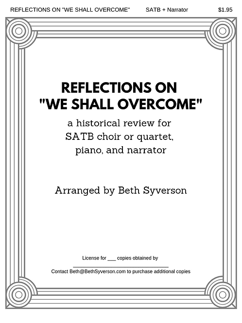 "Reflections on ""We Shall Overcome:"" A Historical Review"