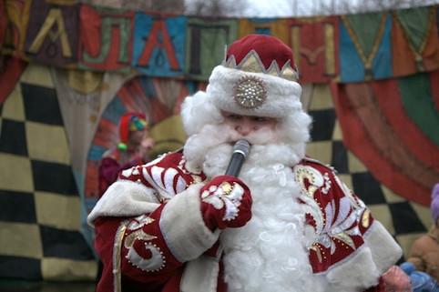 Всероссийский Дед Мороз на празднике