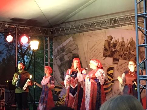 Ансамбль Карагод на Дне Победы в Щербинке
