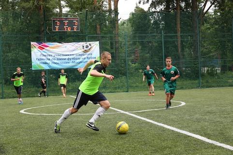 футбольный матч пос. Мосрентген