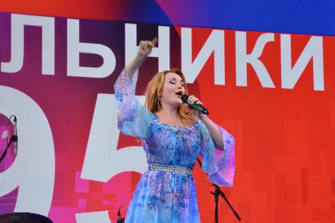 Ольга Варвус на Дне города в Котельниках