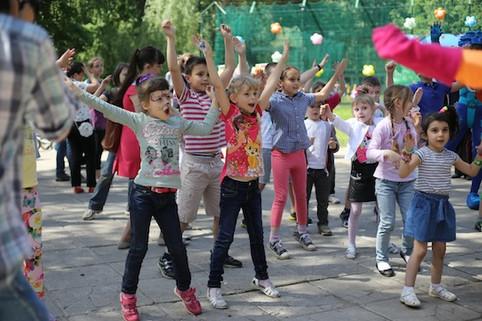 День защиты детей пос. Мосрентген